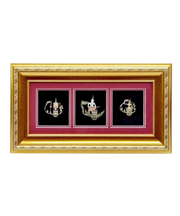 THAI STYLE FRAME SOUVENIR 3 WINDOWS