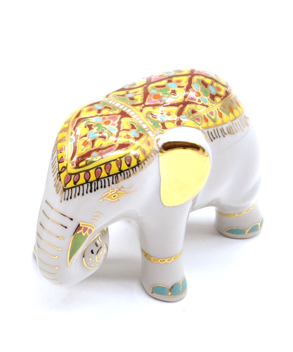 Elephant Small Benjarong 3 inch