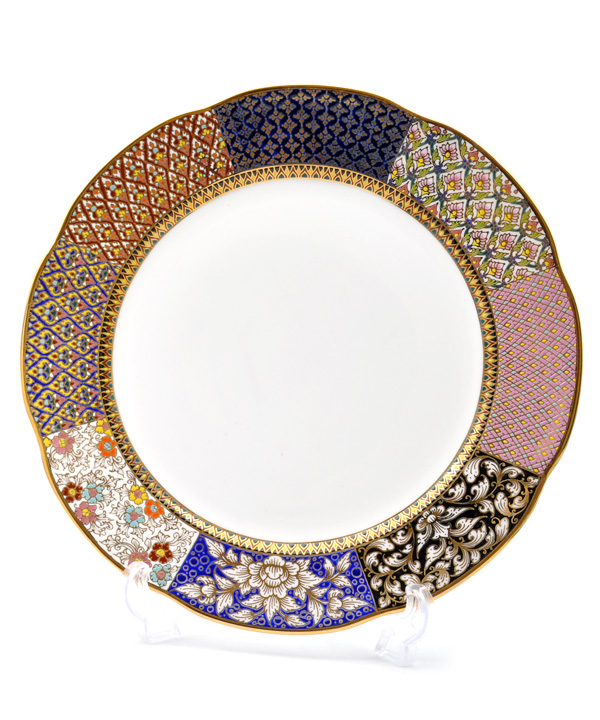 Colorful series show plate