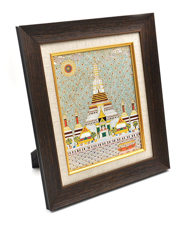 Benjarong picture frame